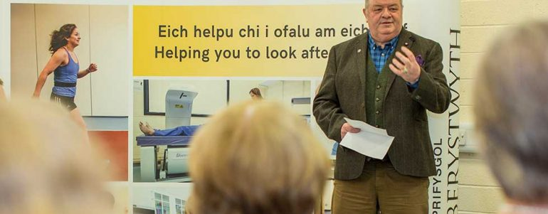 Strong local interest in Open Day to promote health and well-being research in Ceredigion